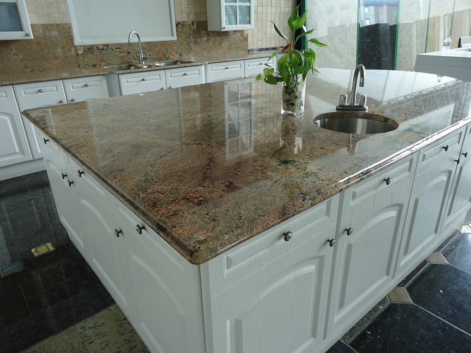 Pin granite countertop colors blue page 3 on pinterest for Corian countertops cost per sq ft