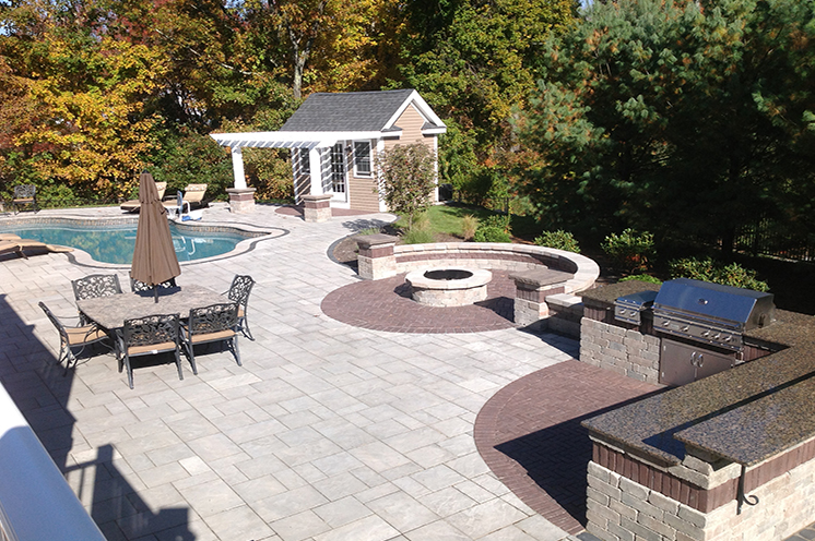 outdoor kitchen contractor weston ma